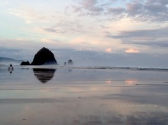 Cannon Beach Daybreak 2186 Copyright Shelagh Donnelly
