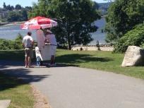 Retro Ice Cream Man Copyright Shelagh Donnnelly