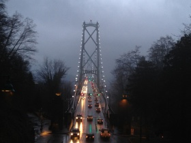 Lions Gate Bridge Copyright Shelagh Donnelly