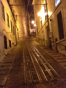 Streets of Gold Lisbon Copyright Shelagh Donnelly