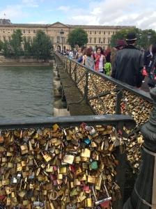 Pont Des Arts Love Locks Copyright Shelagh Donnelly