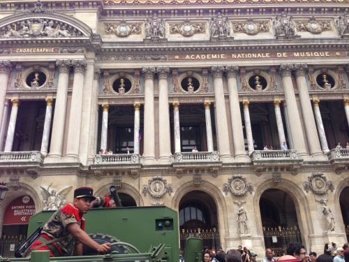 Bastille Day at Palais Garnier Copyright Shelagh Donnelly