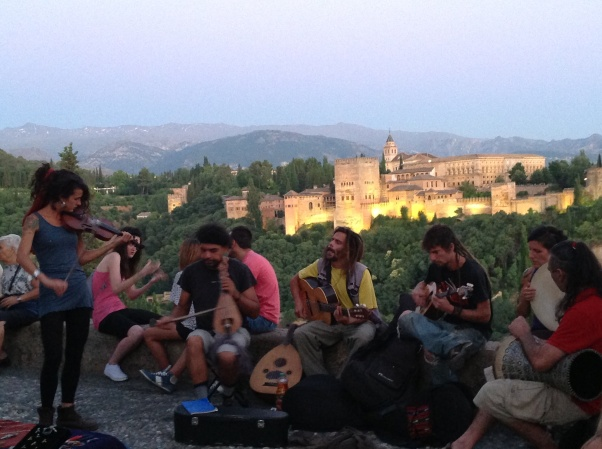 Playing by the Alhambra Copyright Shelagh Donnelly