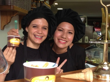 Gelato Girls Copyright Shelagh Donnelly