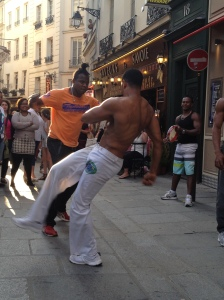 Capoeira in Latin Quarter Copyright Shelagh Donnelly