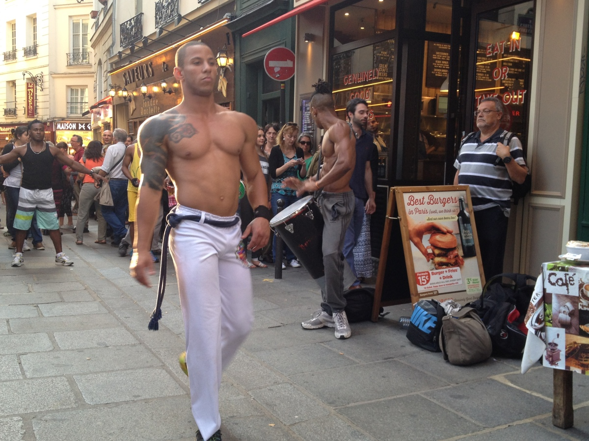 Capoeira in the Latin Quarter