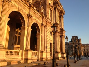 Louvre at Sunset 8142 Copyright Shelagh Donnelly