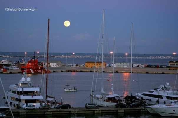 Super Moon Over Palma 9905 Copyright Shelagh Donnelly