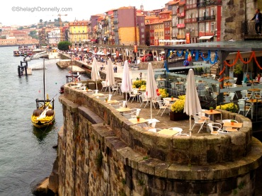Porto Waterfront Copyright Shelagh Donnelly