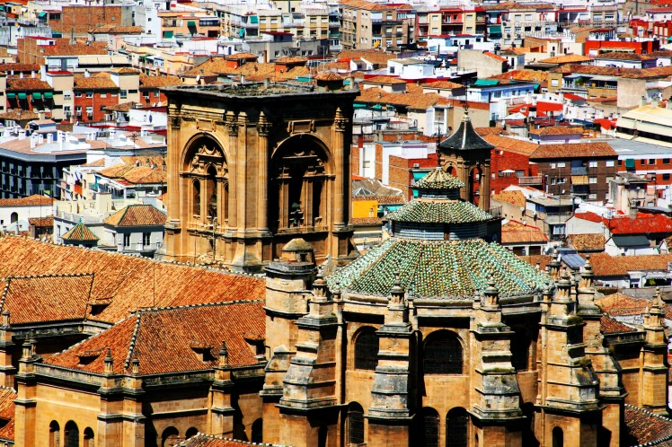 Granada from the Alhambra 9572 Copyright Shelagh Donnelly