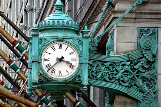 Marshall Fields Clock 2169 Copyright Shelagh Donnelly
