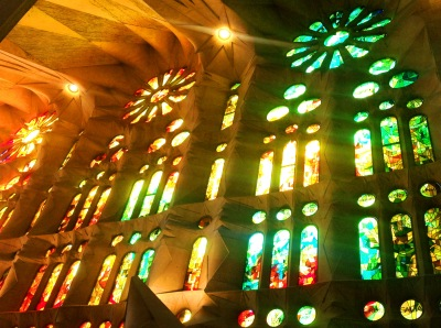 Sagrada Familia Barcelona Copyright Shelagh Donnelly