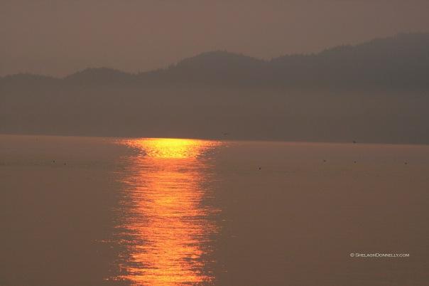 Spanish Banks Sunset 5450 Copyright Shelagh Donnelly