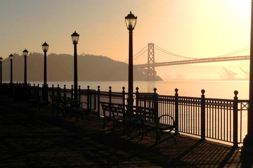 San Fran Sunrise Copyright Shelagh Donnelly
