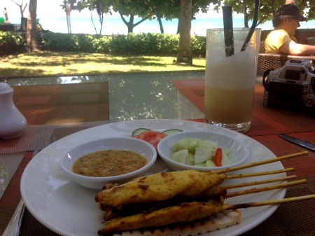 Beachside Lunch Patong Copyright Shelagh Donnelly
