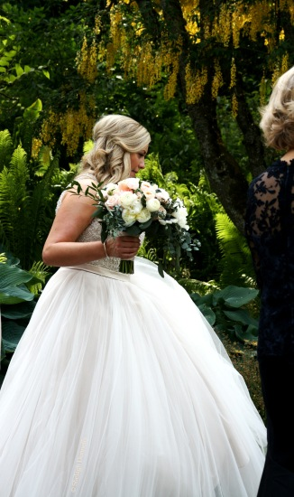 Bride in the Park Copyright Shelagh Donnelly