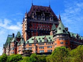 Fairmont Le Chateau Quebec Copyright Shelagh Donnelly