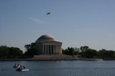 Tidal Basin and Jefferson Memorial Copyright Shelagh Donnelly