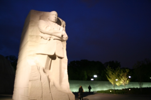 Martin Luther King Memorial Copyright Shelagh Donnelly