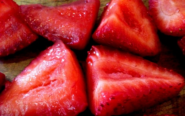 BC Strawberries - Red Inside - Copyright Shelagh Donnelly