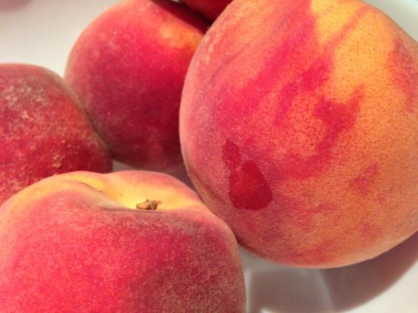 Okanagan Peaches Copyright Shelagh Donnelly
