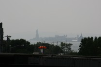 Statue of Liberty from the High Line NYC Copyright Shelagh Donnelly