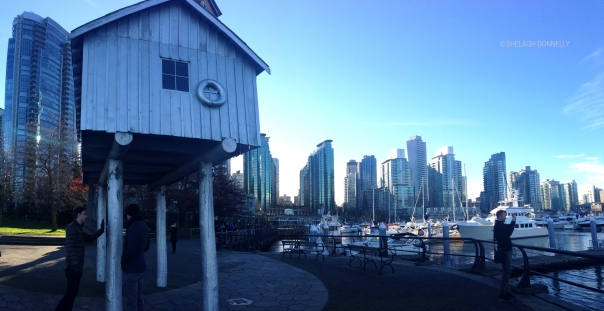 Light Shed Coal Harbour 8092 Copyright Shelagh Donnelly