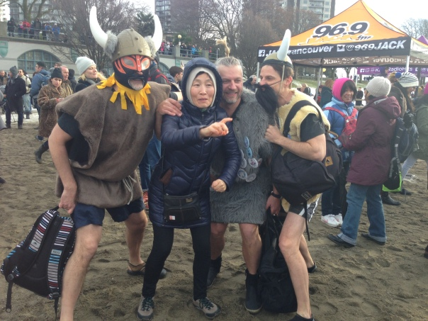 2017 Polar Bear Swim Vikings Copyright Shelagh Donnelly