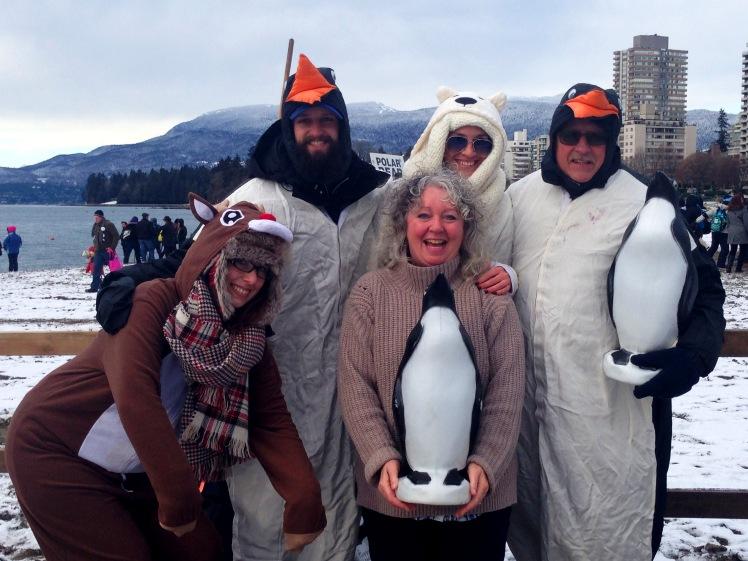 penguin-friends-at-polar-bear-swim