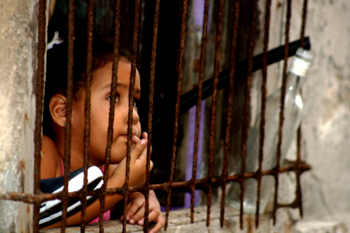 Faces of Cuba: Girl at the Window