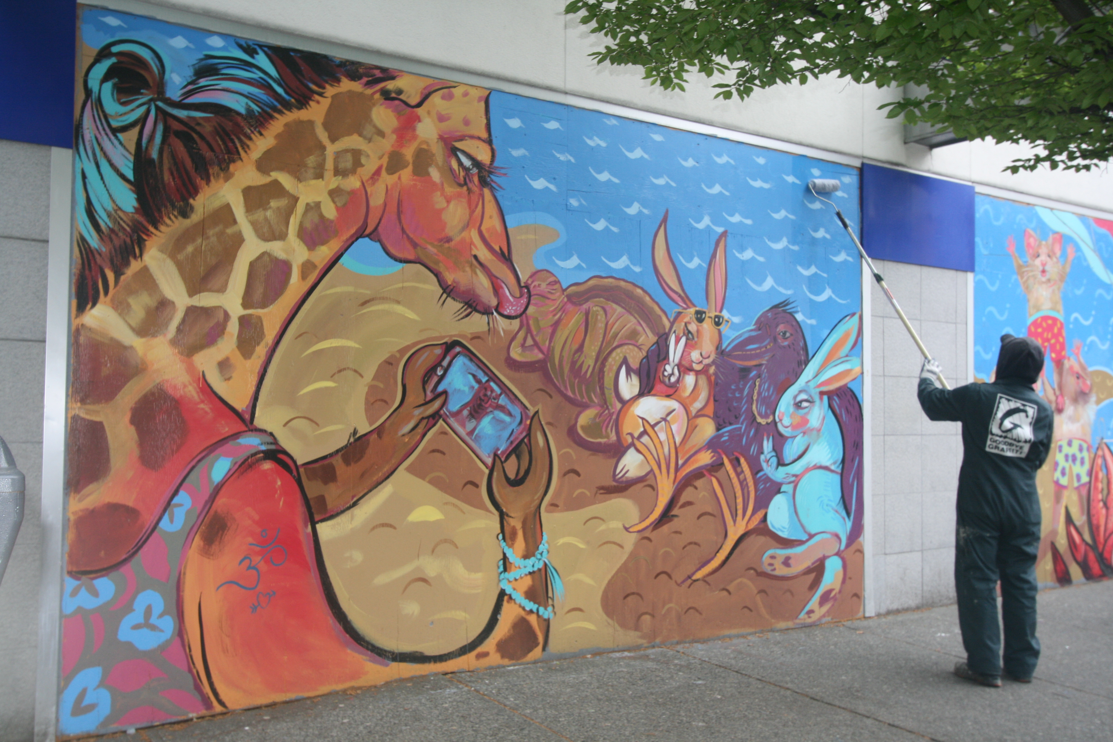 Thurlow-Street-Pandemic-Mural-Vancouver-2019-8328-copyright-Shelagh-Donnelly